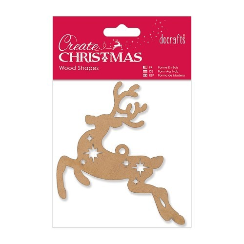 Wood Shapes- Reindeer