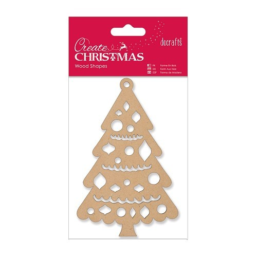 Wood Shapes- Christmas Tree