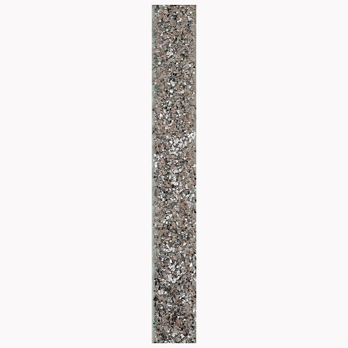 3m Glitter Ribbon - Silver