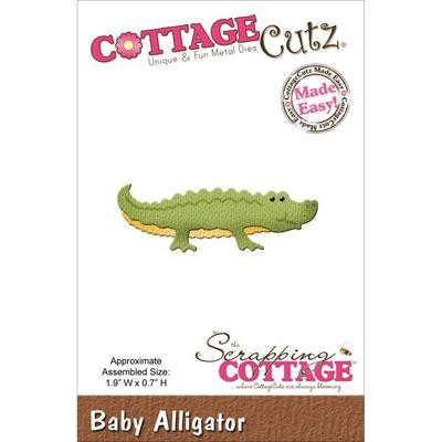 CottageCutz Die Baby Alligator 1.9X.75