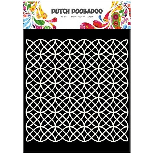 Dutch Doobadoo Dutch Mask Art stencil Geometric A5