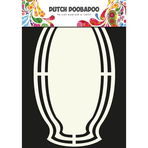 Dutch Doobadoo Dutch Shape Art frames label naamplaat 14,5x20cm