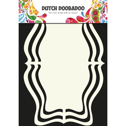 Dutch Doobadoo Dutch Shape Art frames label Rococo