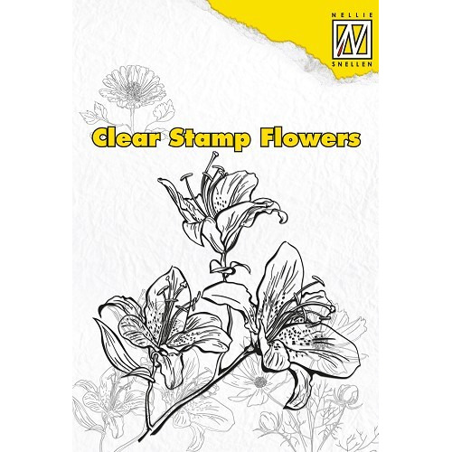 Clear Stamps Flowers Lily