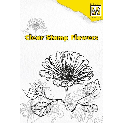 Clear Stamps Flowers Marguerite