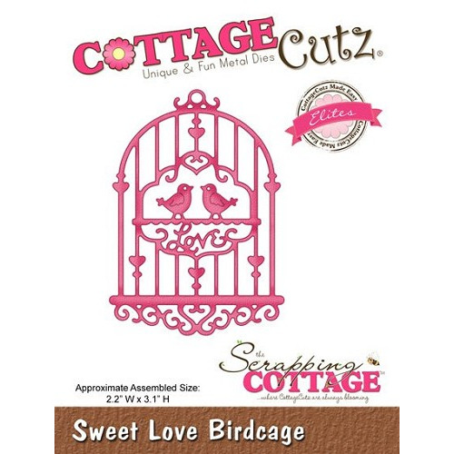 (CCE-097)Scrapping Cottage Sweet Love Birdcage (Elites)