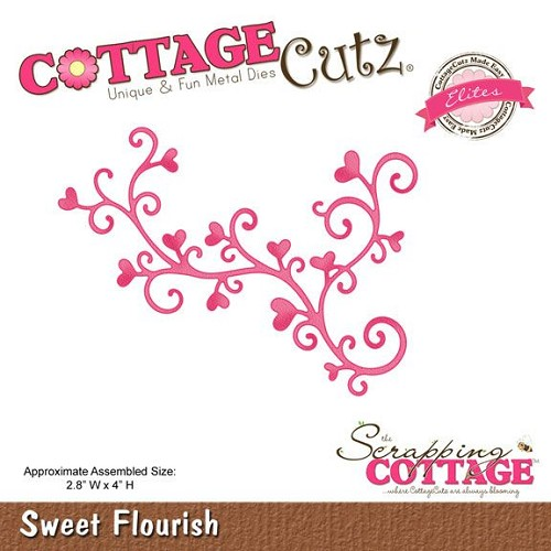 (CCE-095)Scrapping Cottage Sweet Flourish (Elites)