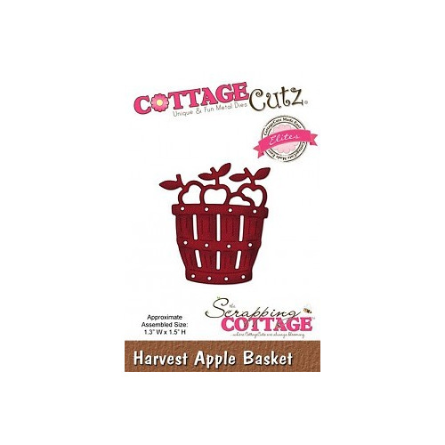 Scrapping Cottage Harvest Apple Basket (Elites) (CCE-072)