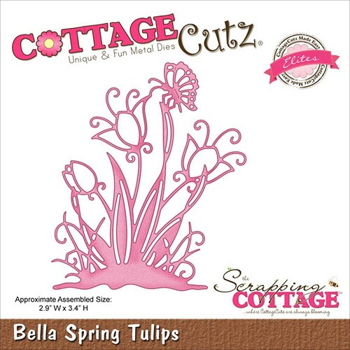 Scrapping Cottage Cottage Cutz Bella Spring Tulips