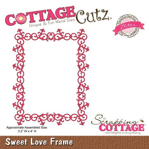 Scrapping Cottage Sweet Love Frame (Elites)