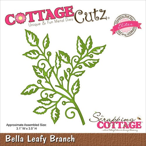 Scrapping Cottage Cottage Cutz Bella Leafy Branch