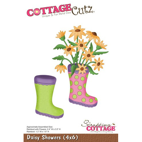 CottageCutz Daisy Showers (4x6)