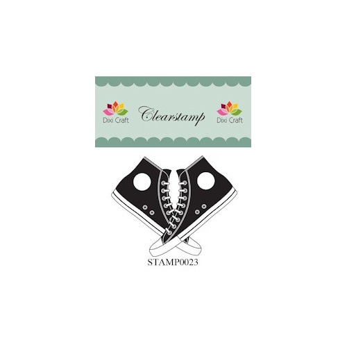 Dixi Craft Clear Stamp Converse - STAMP0023
