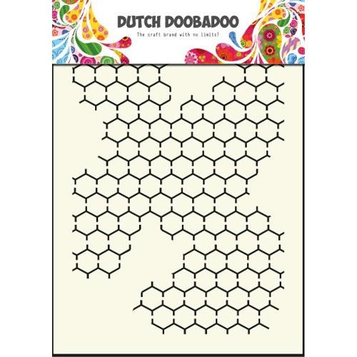 1 ST (1 ST) Dutch Mask Art stencil chicken wire - A5