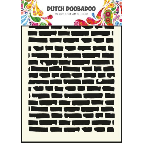 1 ST (1 ST) Dutch Mask Art stencil bricks - A5