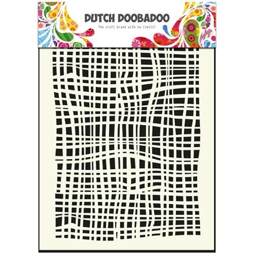 1 ST (1 ST) Dutch Mask Art stencil fabric - A5