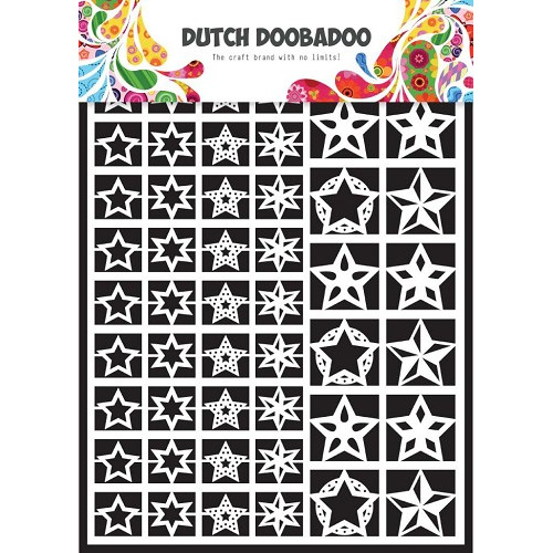 1 ST (1 VL) Dutch Paper Art stars - A5
