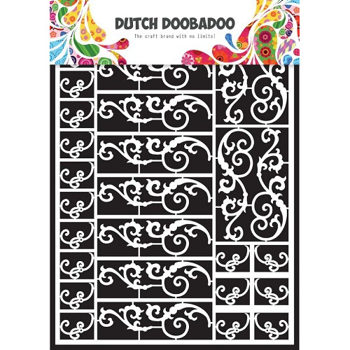 1 ST (1 VL) Dutch Paper Art swirls - A5