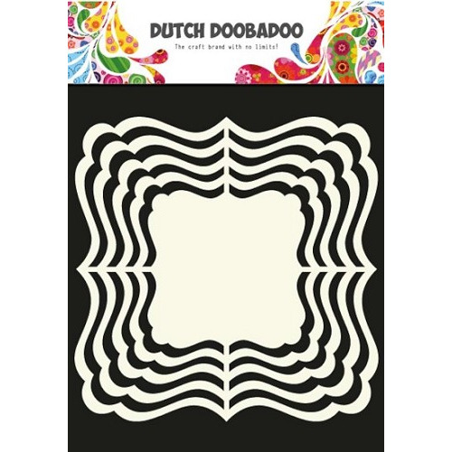 Dutch Doobadoo - Shape Art - Frames ornament vierkant