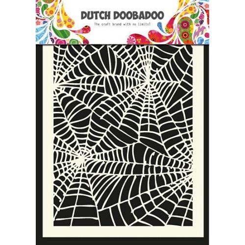 Dutch Doobadoo - Mask Art - Spider web