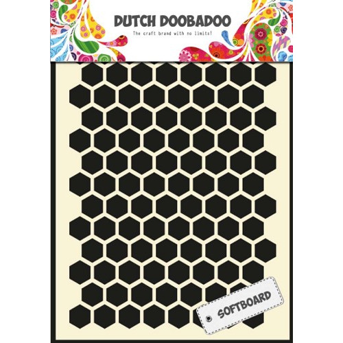 Dutch Softboard Honingraat - A5