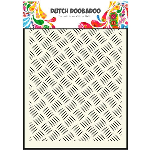 Dutch Doobadoo Dutch Mask Art stencil Metall A5