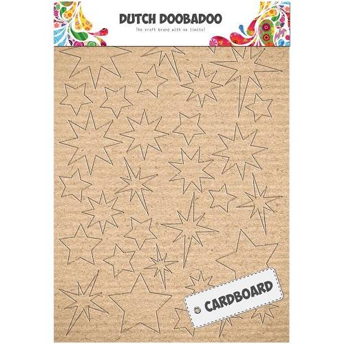 Dutch Doobadoo Dutch Cardboard art sterren A5