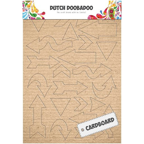 Dutch Doobadoo Dutch Cardboard art pijlen A5