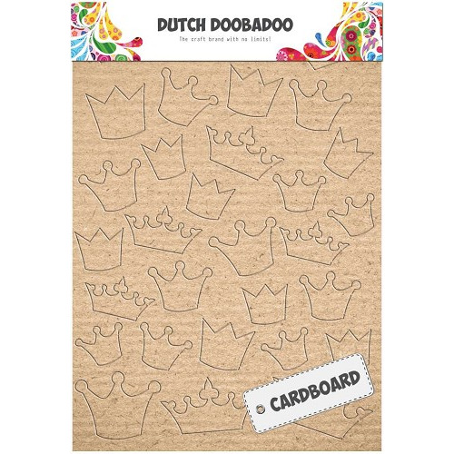 Dutch Doobadoo Dutch Cardboard art kroontjes A5