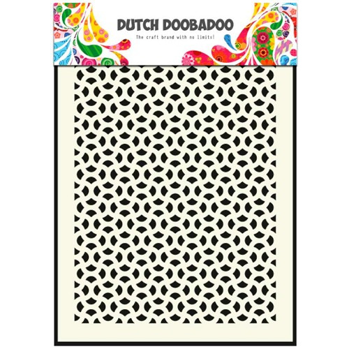 Dutch Doobadoo Dutch Mask Art stencil abstract A5