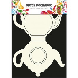 Dutch Doobadoo Dutch Card Art theepot A4
