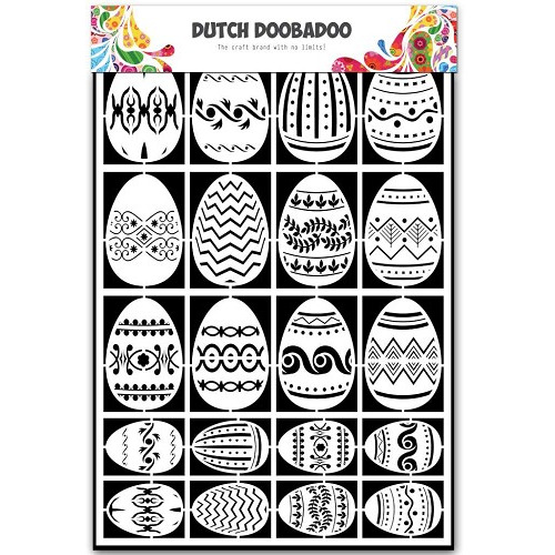Dutch Doobadoo Dutch Paper Art Paas eieren - A5