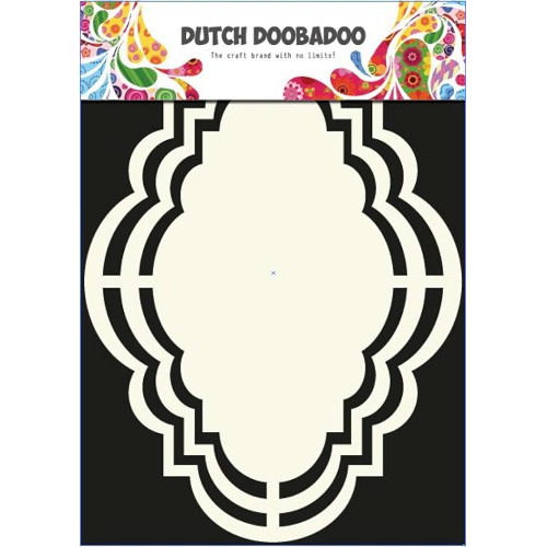 Dutch Doobadoo Dutch Shape Art frames romantisch 14.5x20cm