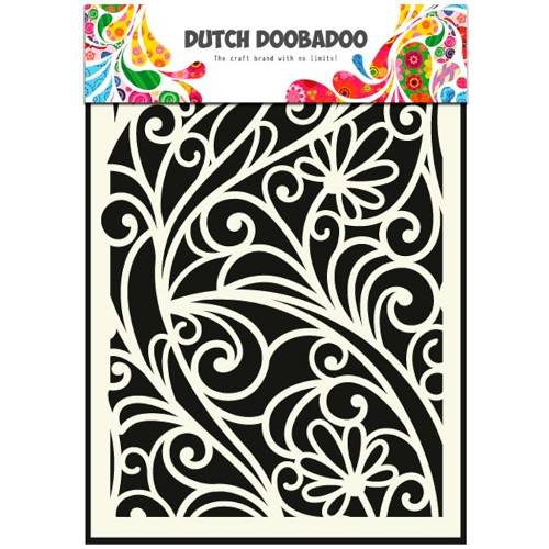 Dutch Doobadoo Dutch Mask Art stencil bloemenvenster A5