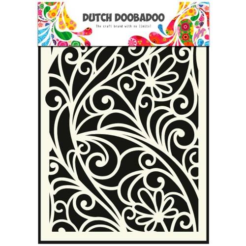 Dutch Doobadoo Dutch Mask Art stencil bloemenvenster A5