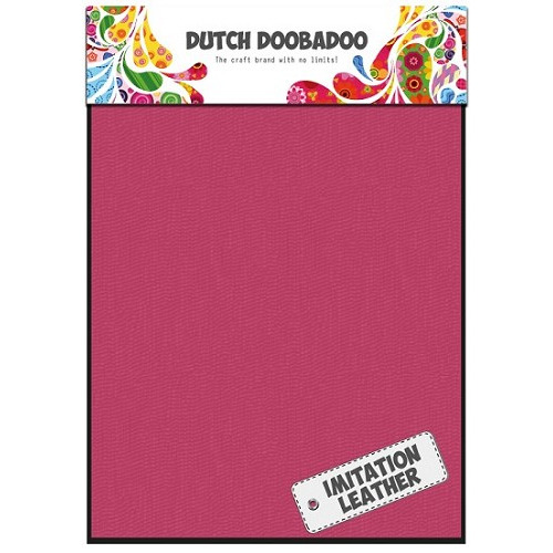 Dutch Doobadoo - Leather Pink Sheets A5