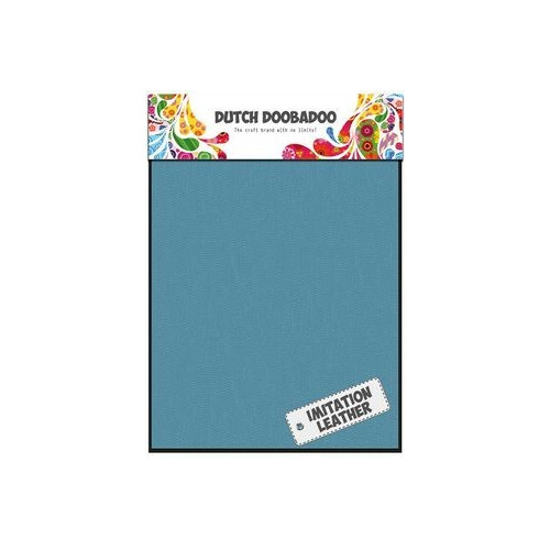 Dutch Doobadoo - Leather Turquoise Sheets A5