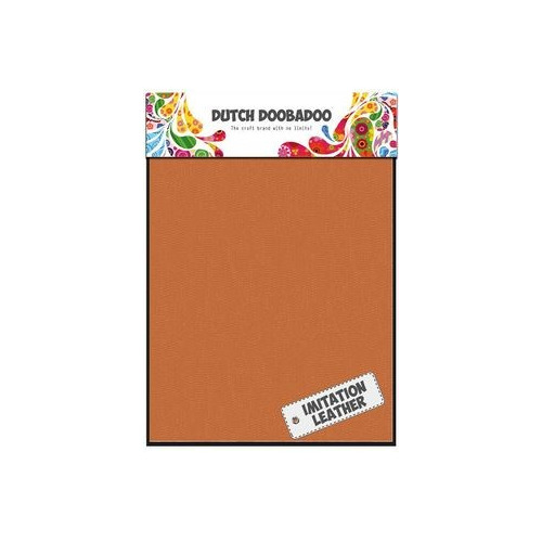 Dutch Doobadoo - Leather Orange Sheets A5