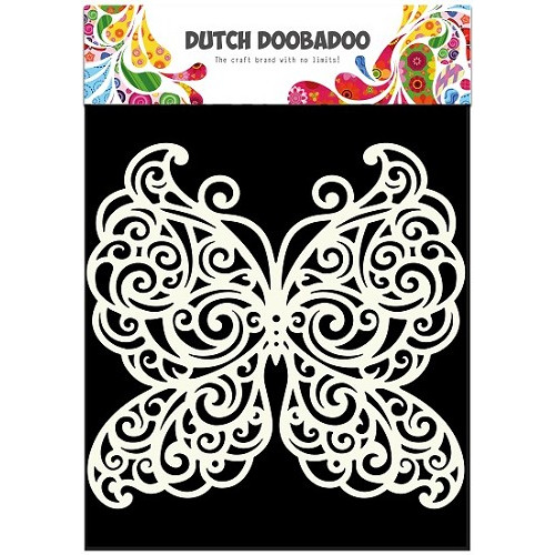 Dutch Doobadoo - Dutch Mask Butterfly A5