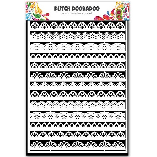 Dutch Doobadoo - Dutch Paper Borders A5