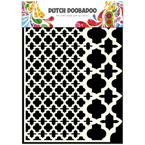 Dutch Doobadoo Dutch Mask Art stencil vintage A5