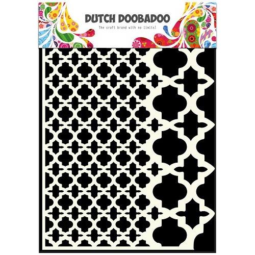 Dutch Doobadoo Dutch Mask Art stencil vintage A5