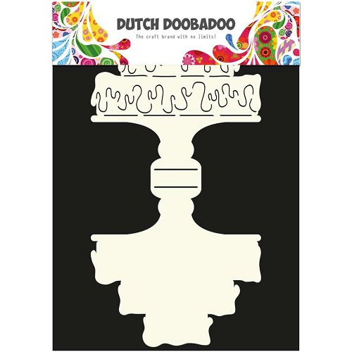 Dutch Doobadoo Dutch Card Art stencil Cake A4