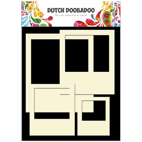 Dutch Doobadoo - Dutch Card Art stencil Polaroid (4 st) A5