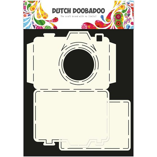 Dutch Doobadoo - Dutch Card Art stencil Camera A4