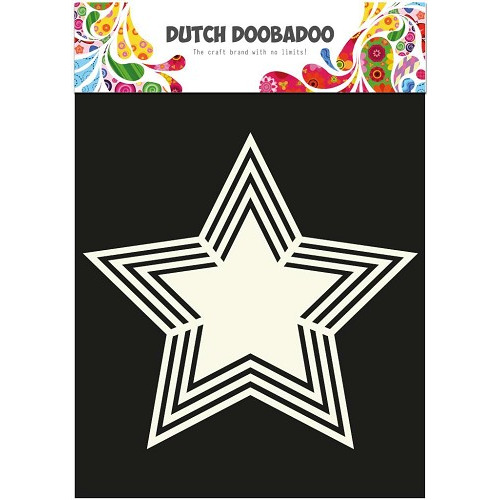 Dutch Doobadoo - Dutch Shape Art frames Ster A4