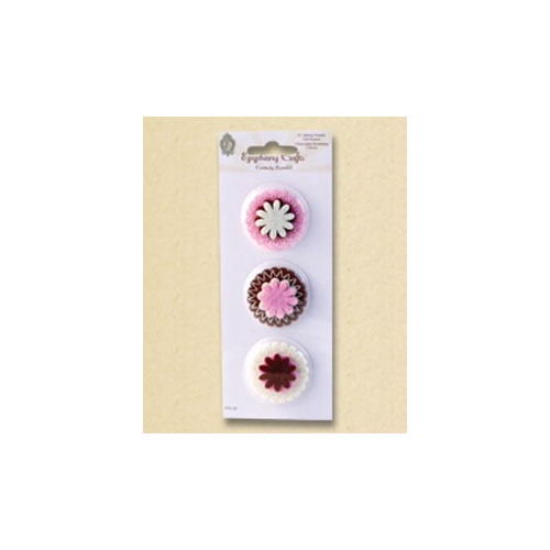 Epiphany Crafts Felt Flowers Chocolate Strawberry