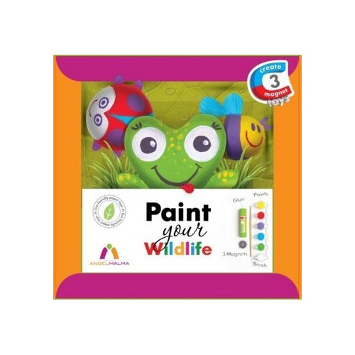 Set paint your Wildlife met magneet compleet