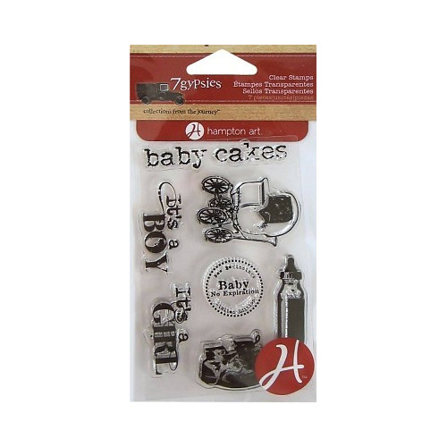 7Gypsies Baby Cakes Clear Stamps (SC0523)
