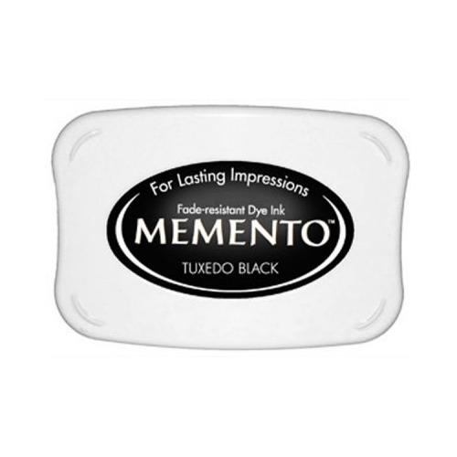 Memento Dye Ink Pad - Tuxedo Black ME-900